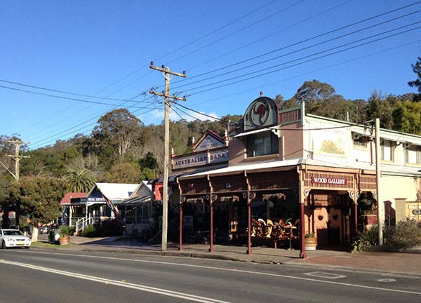 Kangaroo Valley main street