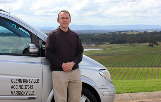 Glenn Kinsville of Country Trails private tours