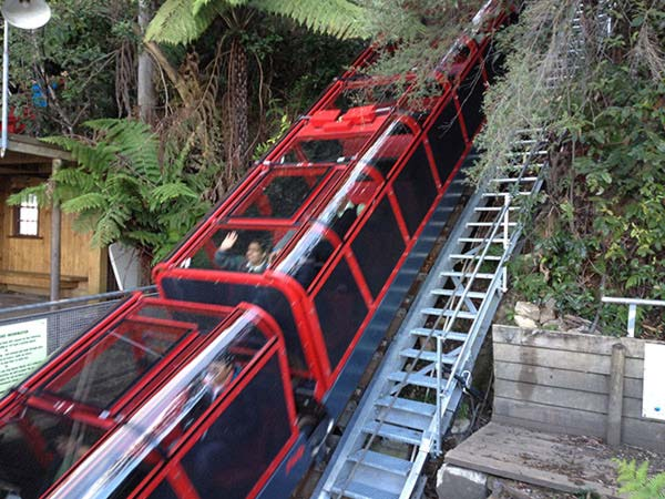 Scenic Railway in motion