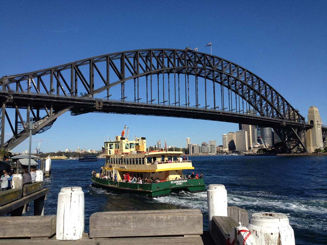 Sydney City tours at the Bridge