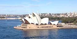 Sydney Opera House on our Sydney Sightseeing Tours