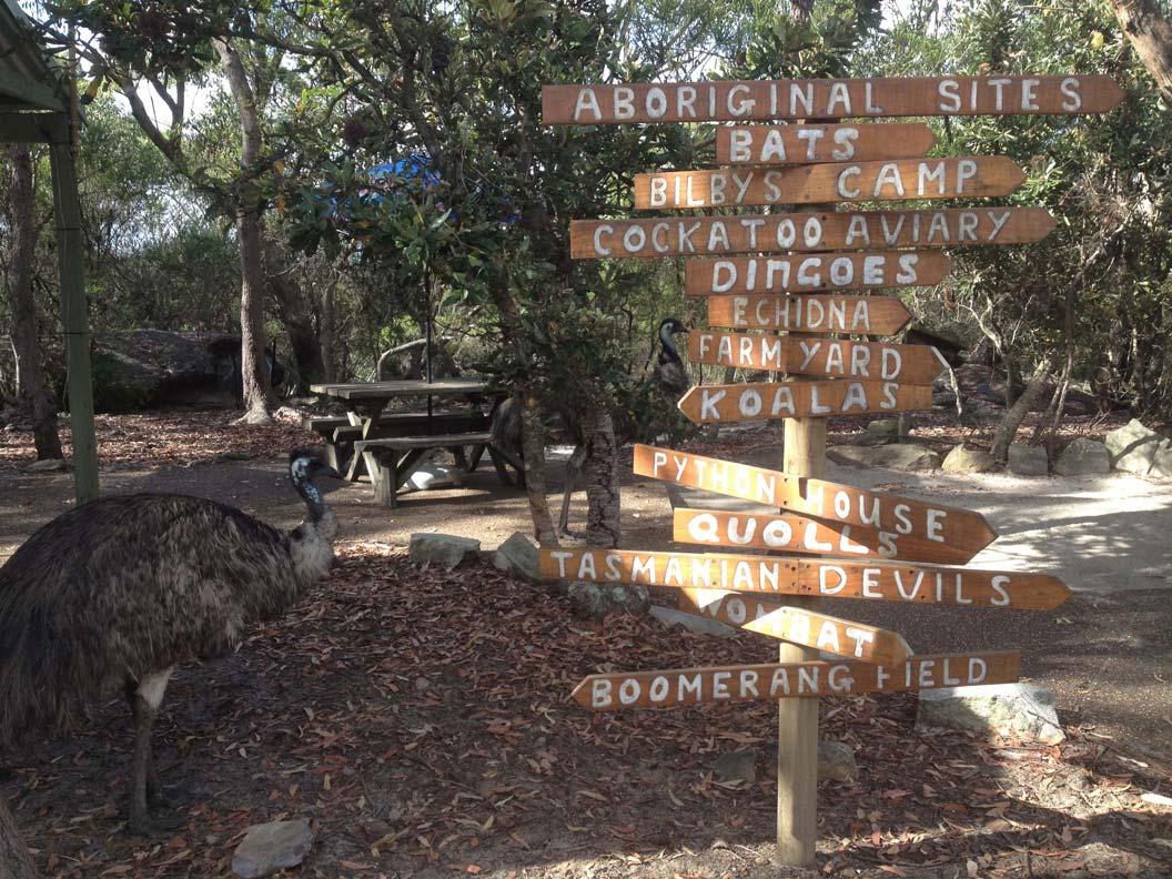 Australia Walkabout Wildlife Park, near Gosford NSW