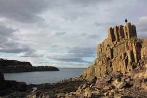 Old quarry site at Bombo, South Coast