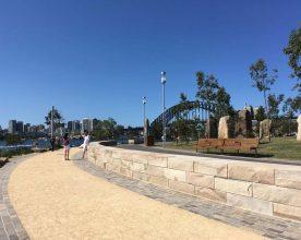 Sydney Walks – Barangaroo Reserve