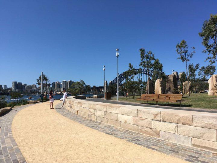 Sydney Walks - Barangaroo Reserve